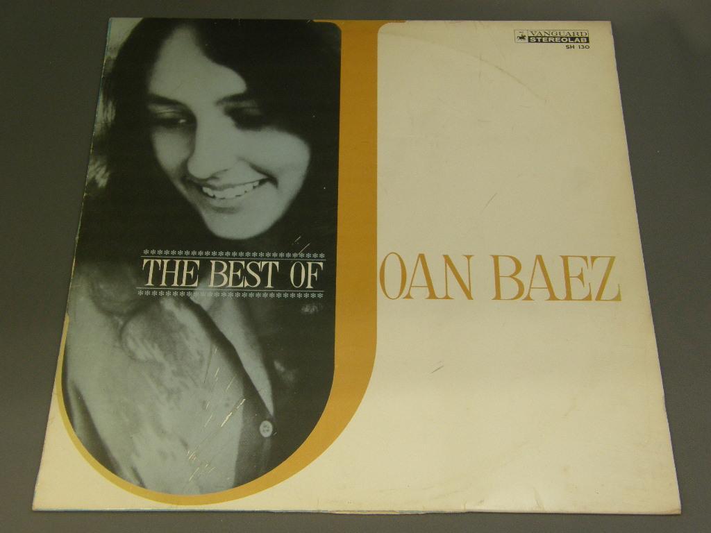 JOAN BAEZ/ ジョーン・バエズの全て ペラジャケLP SH130...