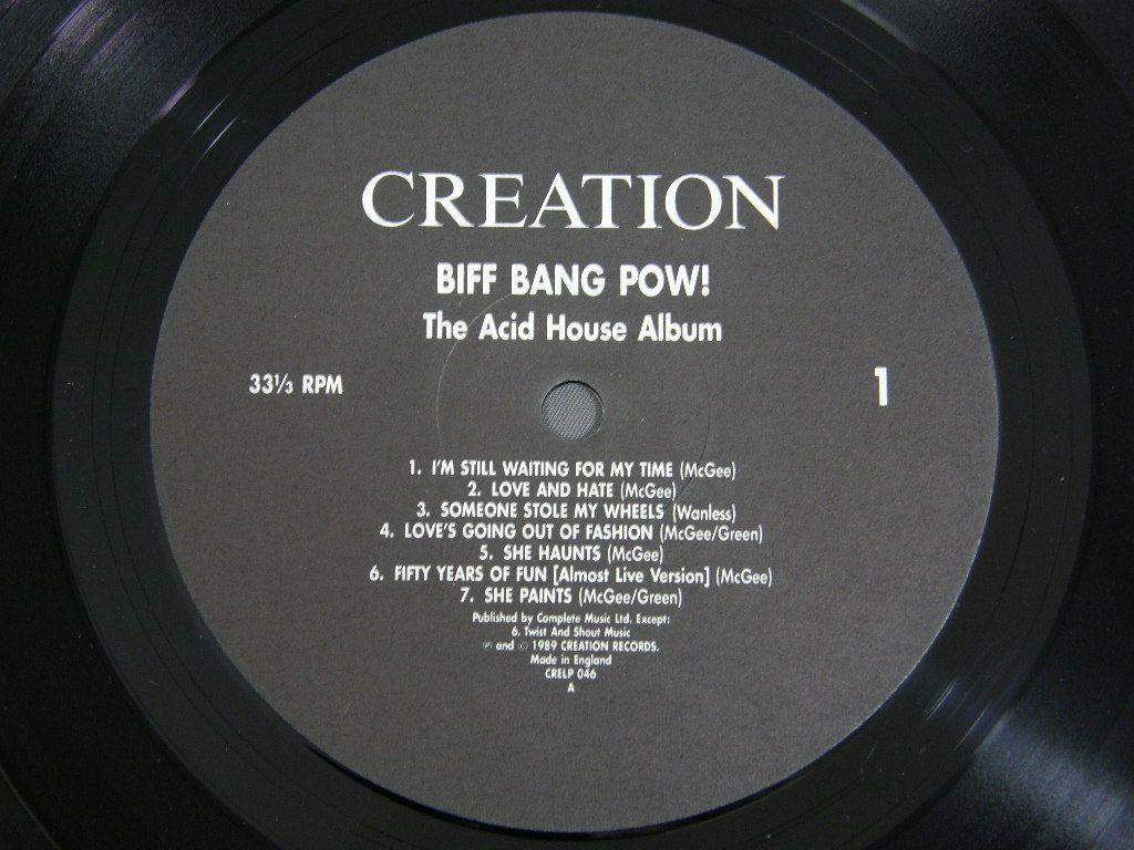 Biff bang pow acid house album cre lp046 for Acid house albums