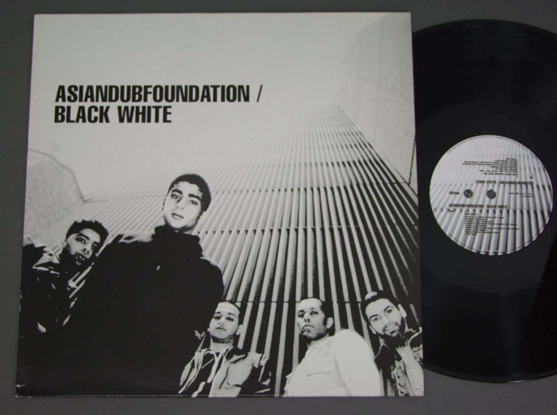 ASIAN DUB FOUNDATION - BLACK WHITE EP - Maxi x 1