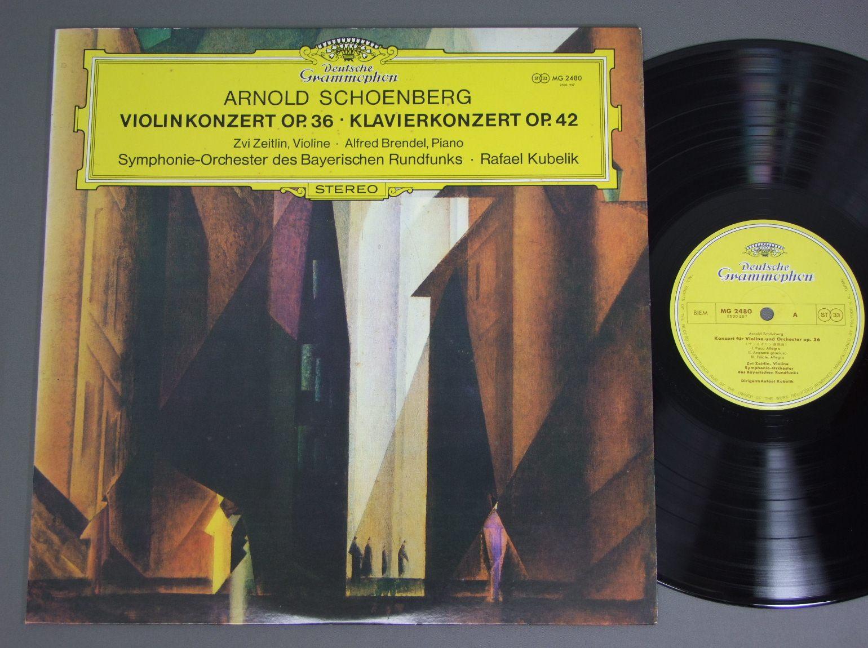 VN:ZEITLIN PIANO:BRENDEL - Schoengerg Vn concerto - 33T