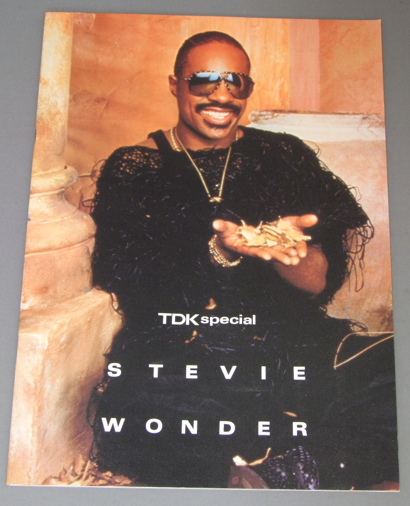 STEVIE WONDER - JAPAN TOUR 1985 - Concert Program
