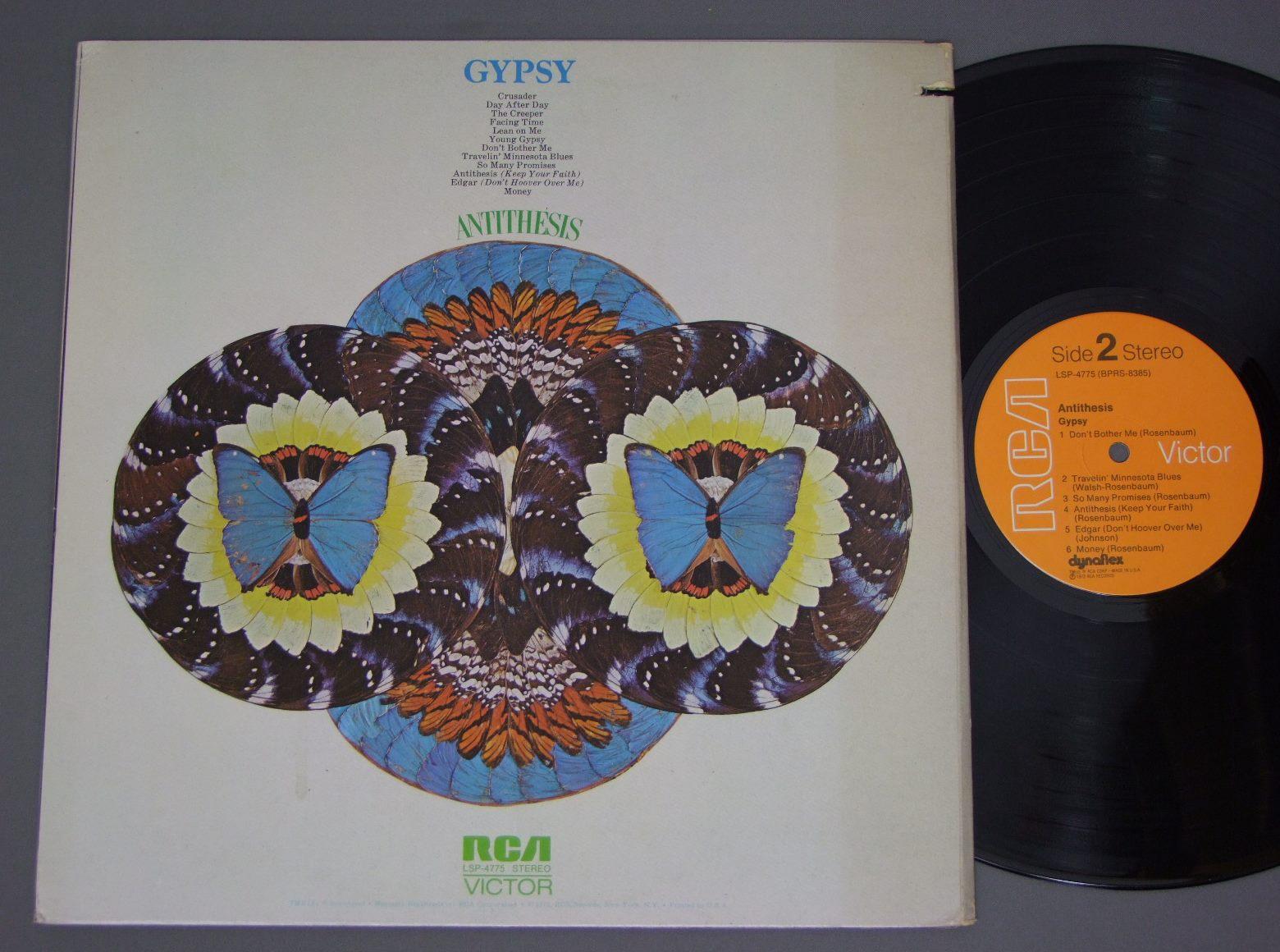 gypsy antithesis album Antithesis (keep your faith) faithmp3(734kb) edgar money this was gypsy's third album - their first on rca records - released in 1972.
