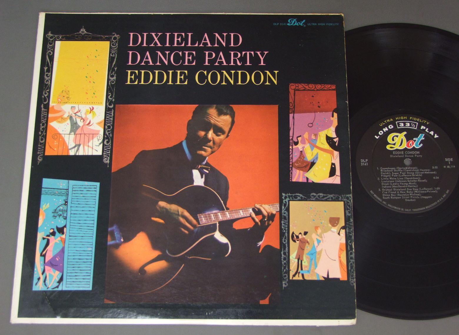 EDDIE CONDON/DIXIELAND DANCE PARTY DLP3141アナログレコード 詳細ページ