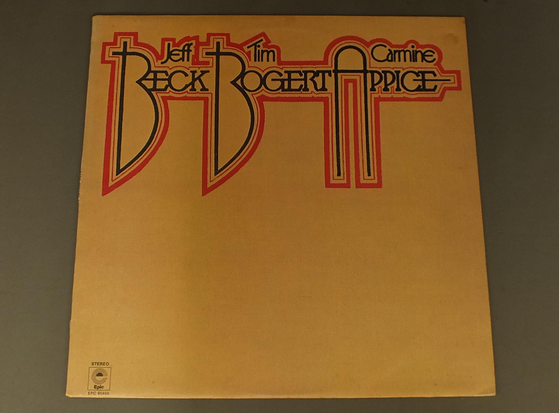 JEFF BECK TIM BOGERT CARMINE APPICE - BECK BOGERT APPICE - LP