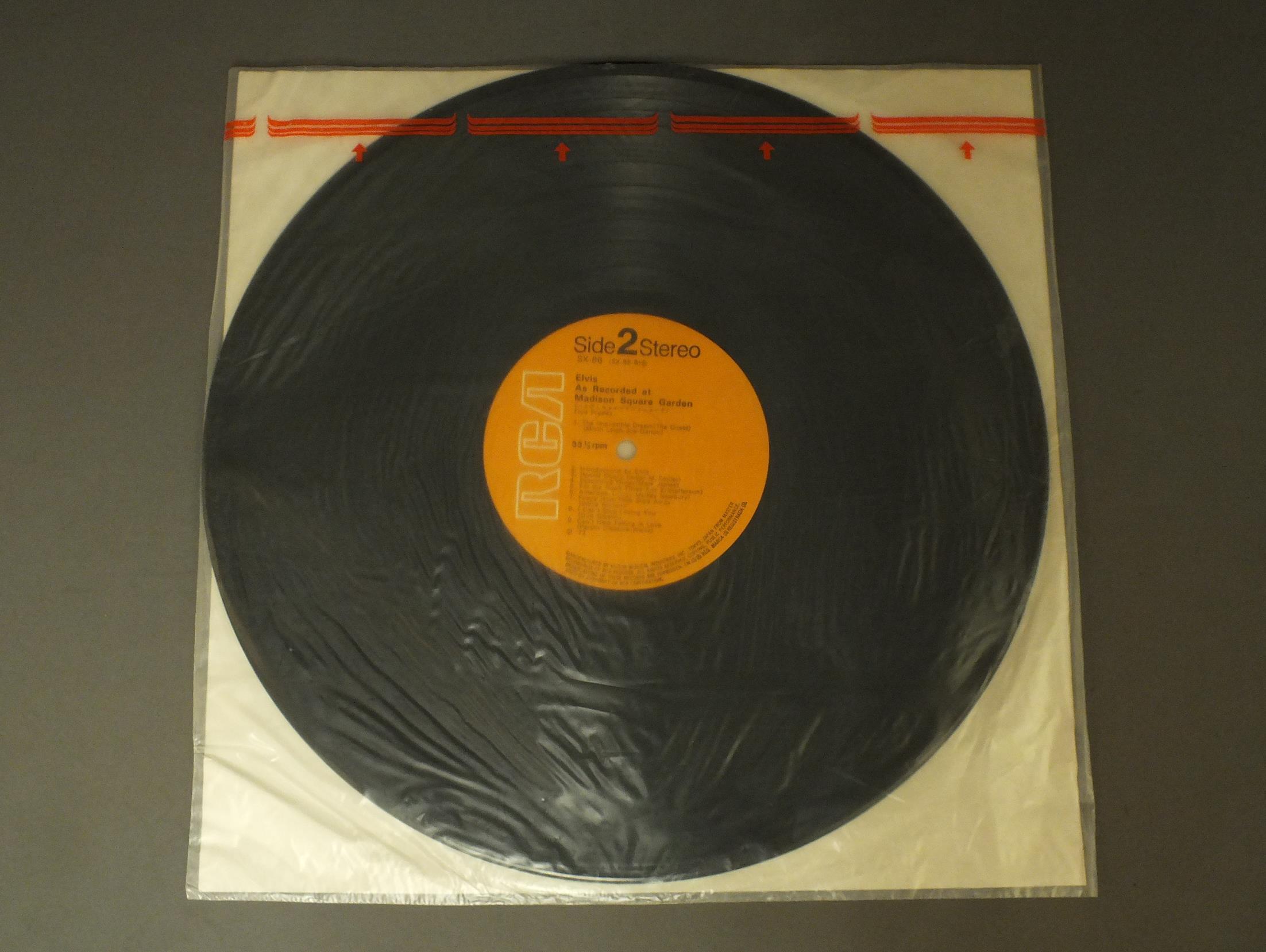 ELVISエルヴィス・プレスリー/ELVIS AS RECORDED AT MADISON SQUARE GARDENエルヴィス・イン・ニューヨーク SX86