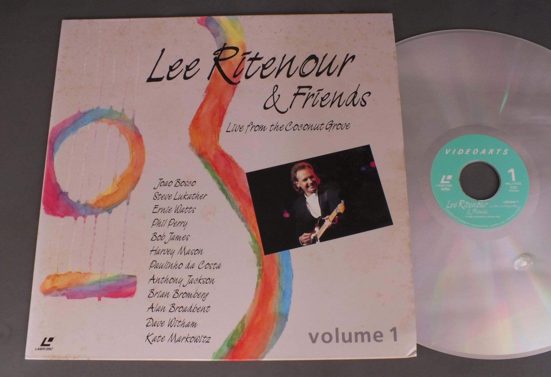 LEE RITENOUR & FRIENDS - LEE RITENOUR & FRIENDS LIVE VOL1 - Laser Disc