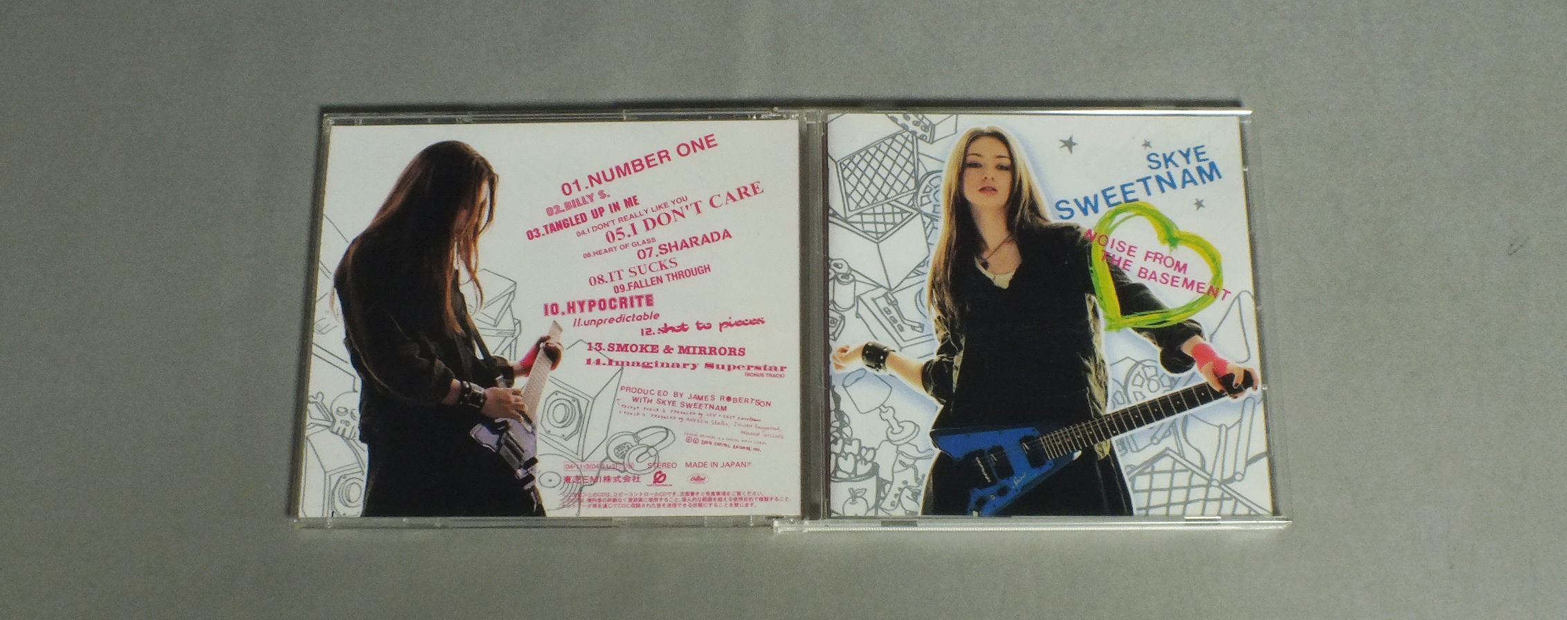 Noise From Basement By Skye Sweetnam, CD With Frere-53