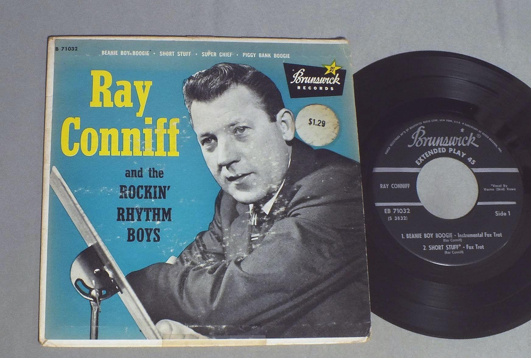 RAY CONNIFF - AND THE ROCKIN` RHYTHM BOYS - 45T x 1