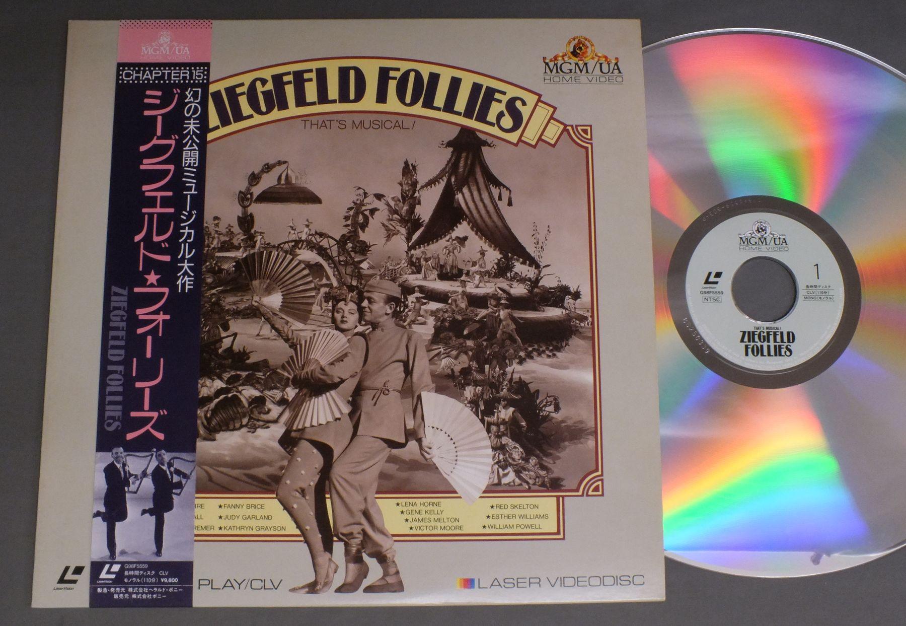 VINCENTE MINNELLI - ZIEGFELD FOLLIES THAT`S MUSICAL ! - Laser Disc