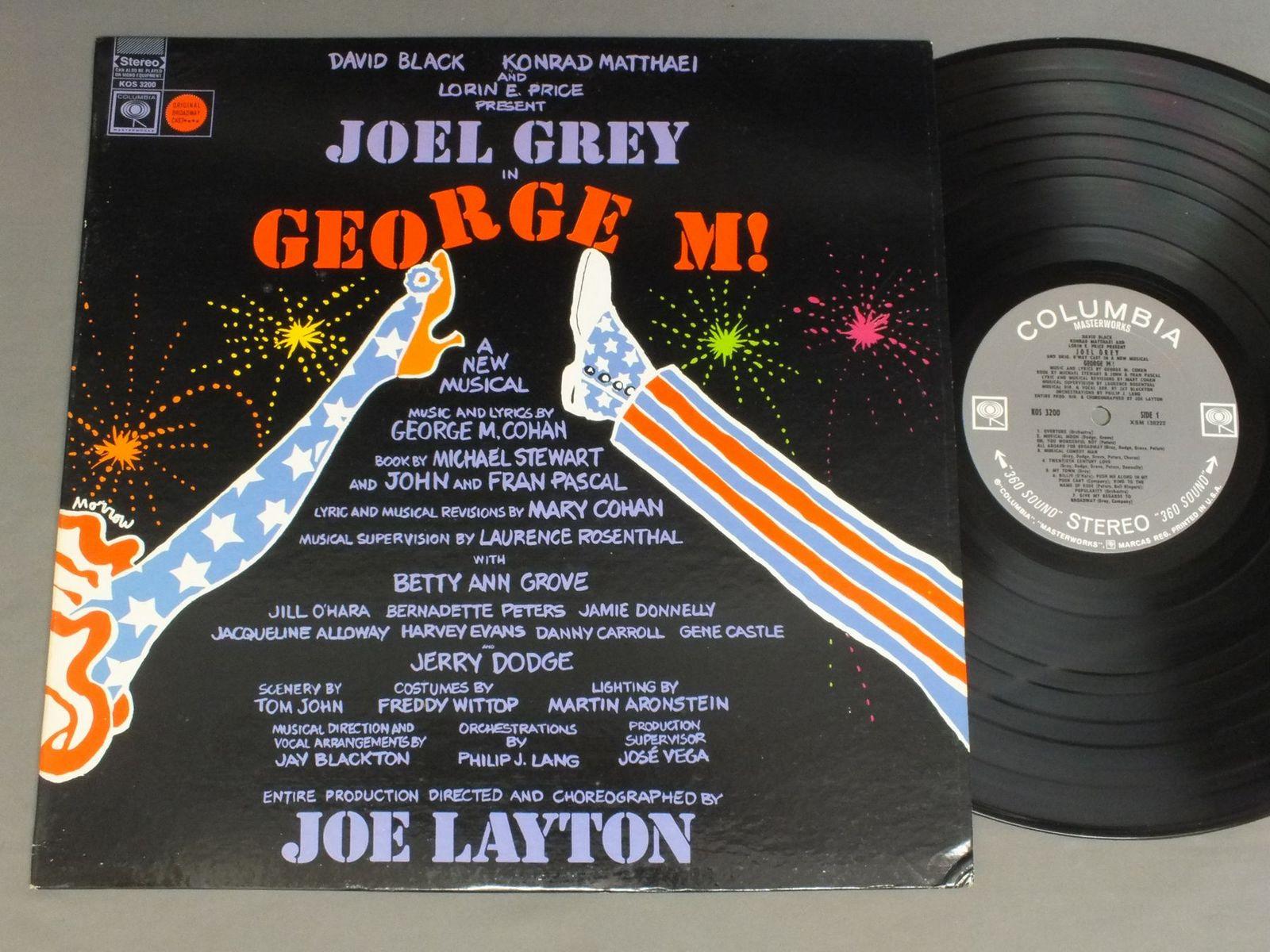 JOE LAYTON - MUSICAL GEORGE M ! - 33T