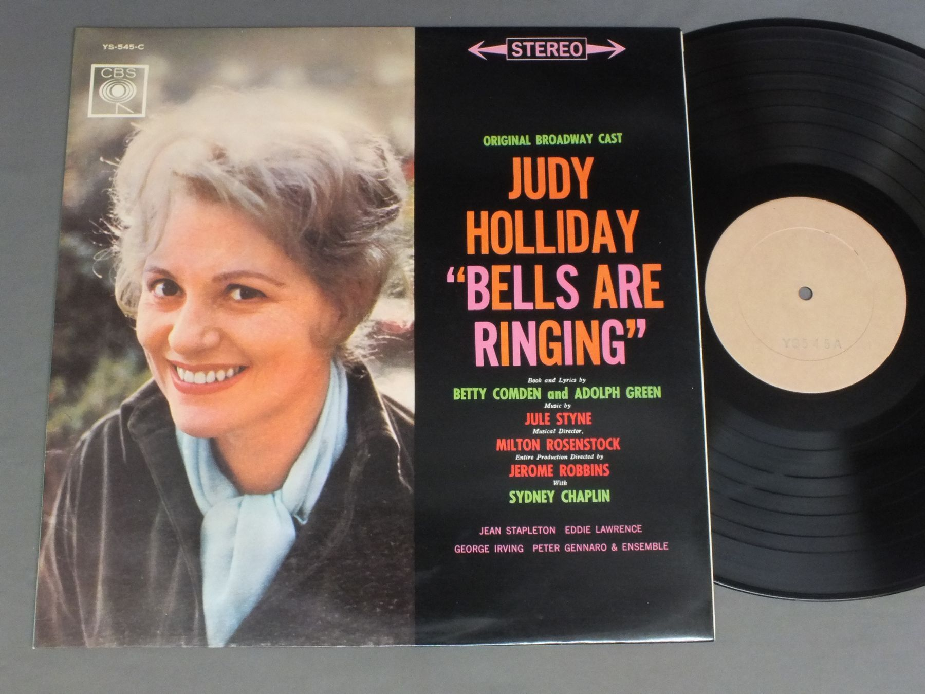 JUDY HOLLIDAY - MUSICAL BELLS ARE RINGING - 33T