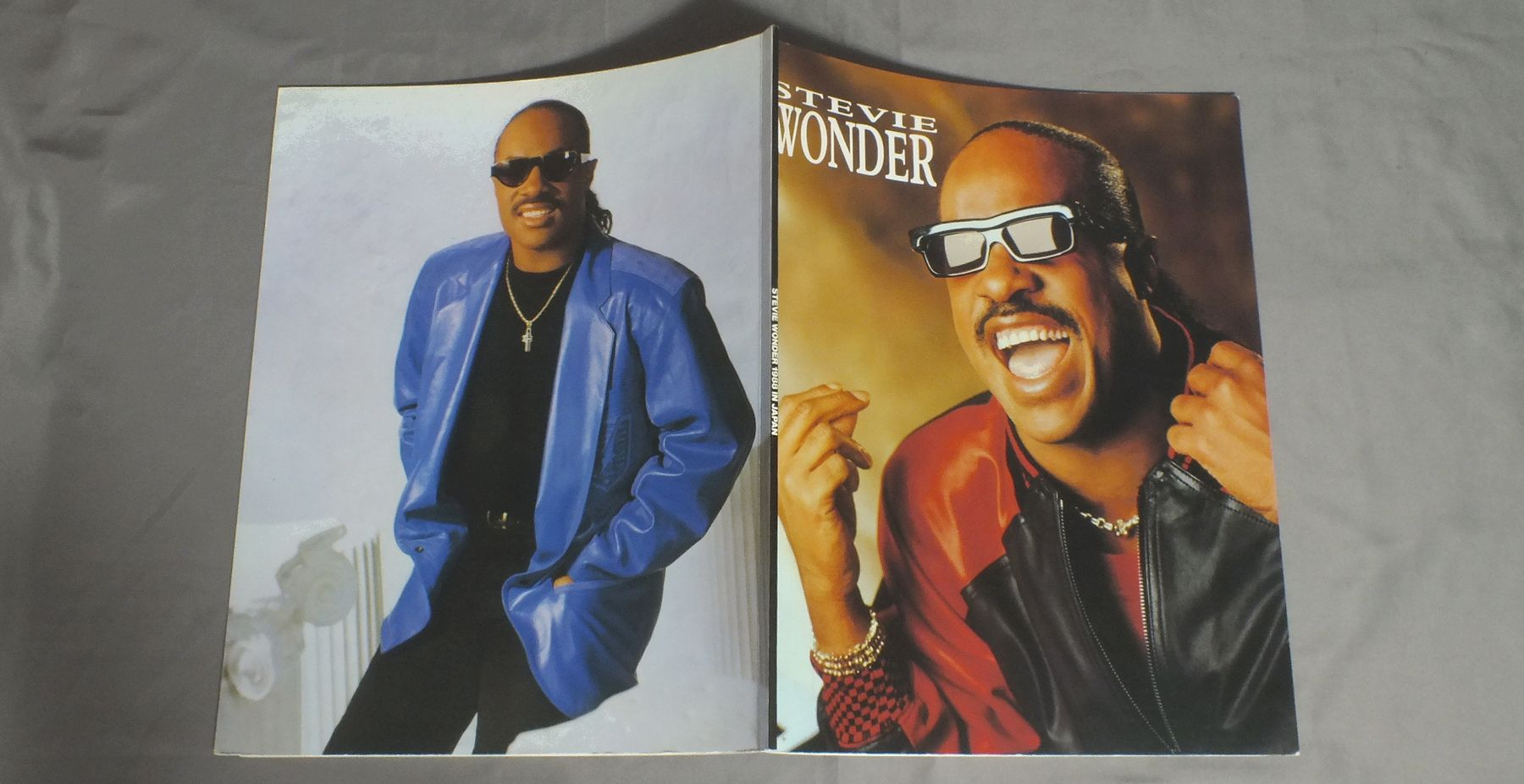 STEVIE WONDER - JAPAN TOUR `88 PROGRAM - Concert Program