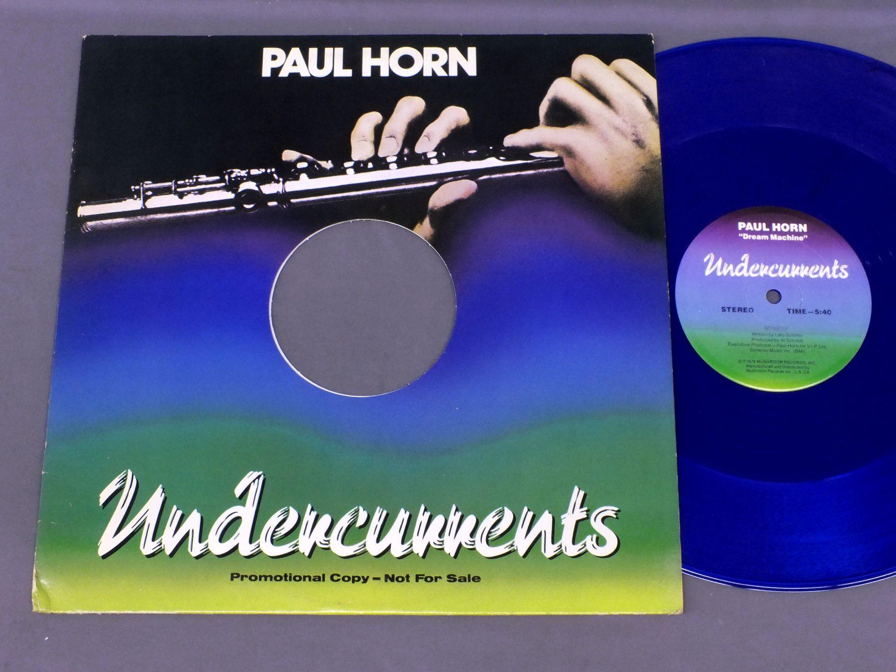 PAUL HORN - UNDERCURRENTS PROMO COPY - Maxi x 1