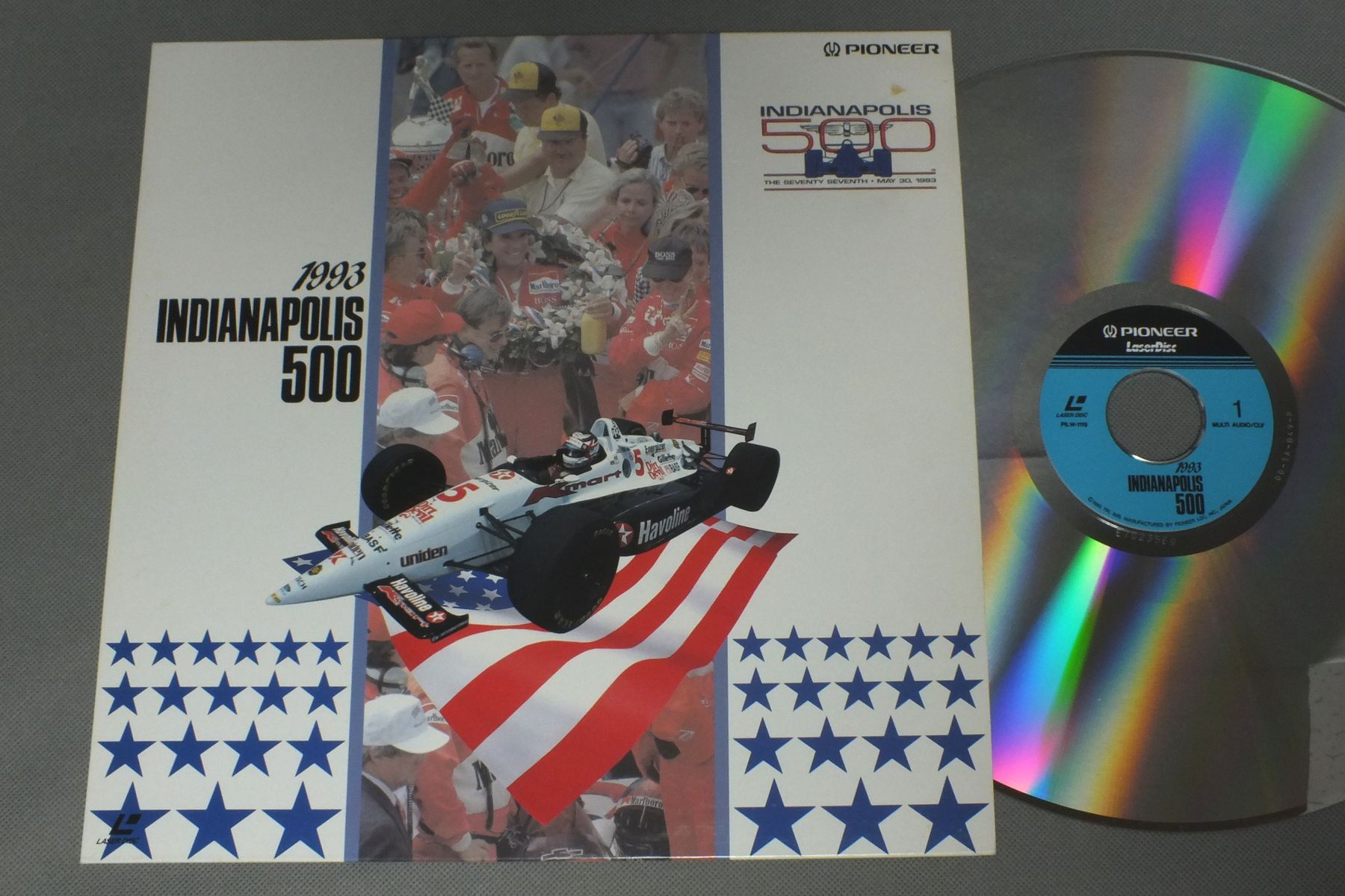INDIANAPOLIS 500 - 1993 - Laser Disc