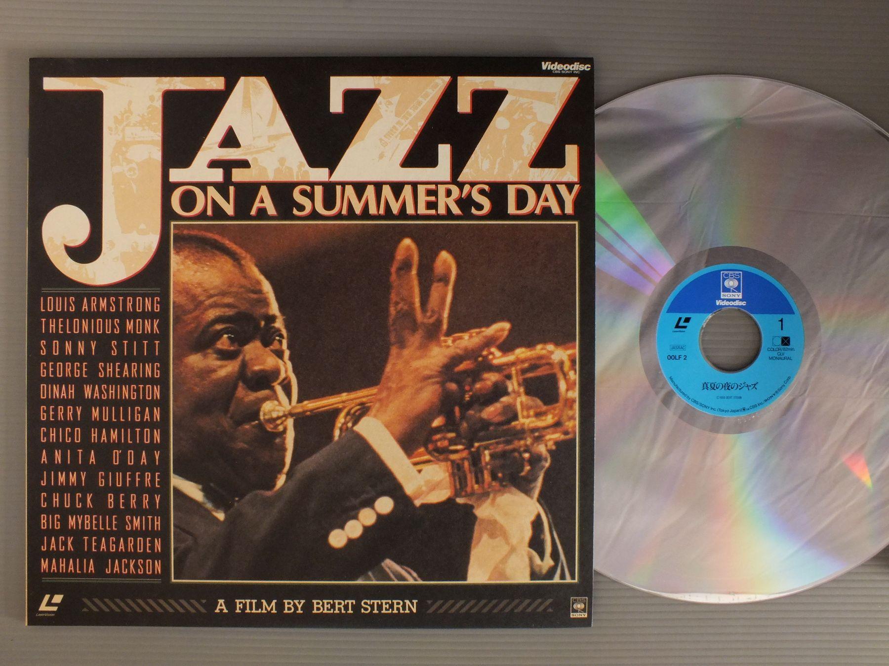 BERT STERN - FILM JAZZ ON A SUMMER`S DAY - Laser Disc