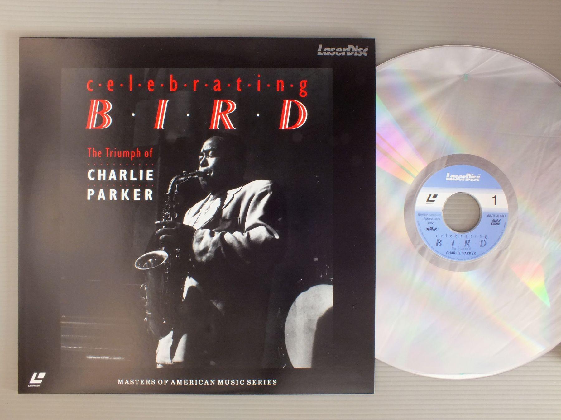 CHARLIE PARKER - CELEBRATING BIRD-TRIUMPH OF CHARLIE PARKER - Laser Disc
