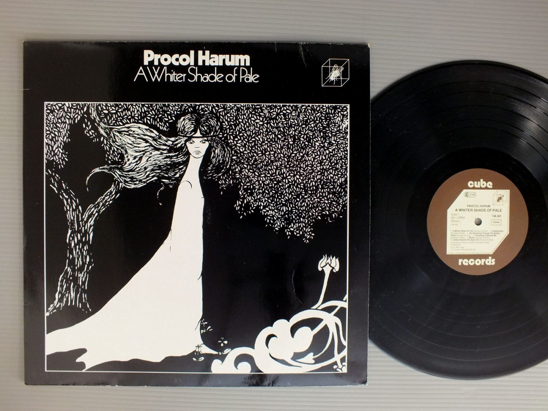 PROCOL HARUM - WHITER SHADE OF PALE - 33T