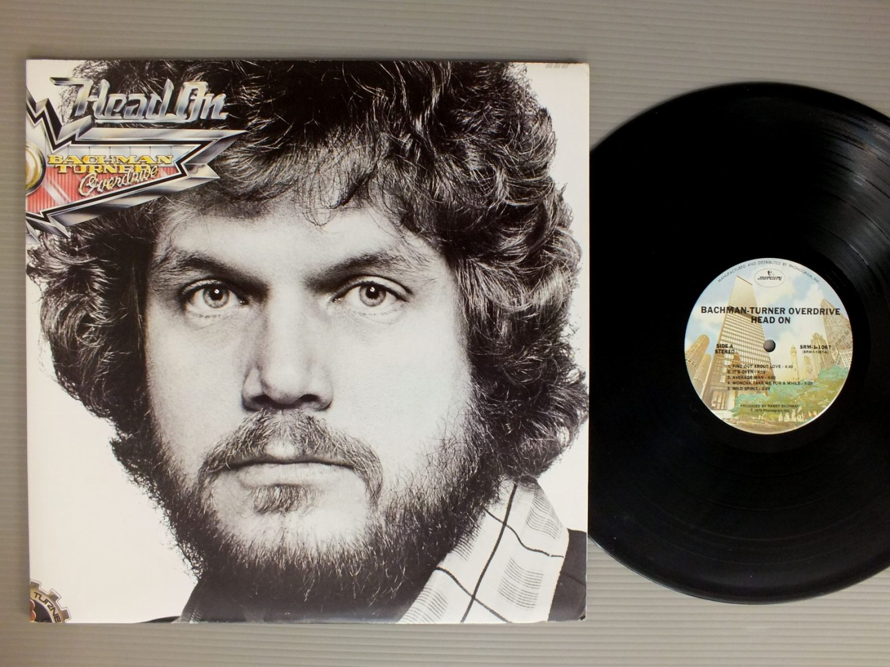 BACHMAN TURNER OVERDRIVE - HEAD ON - 33T