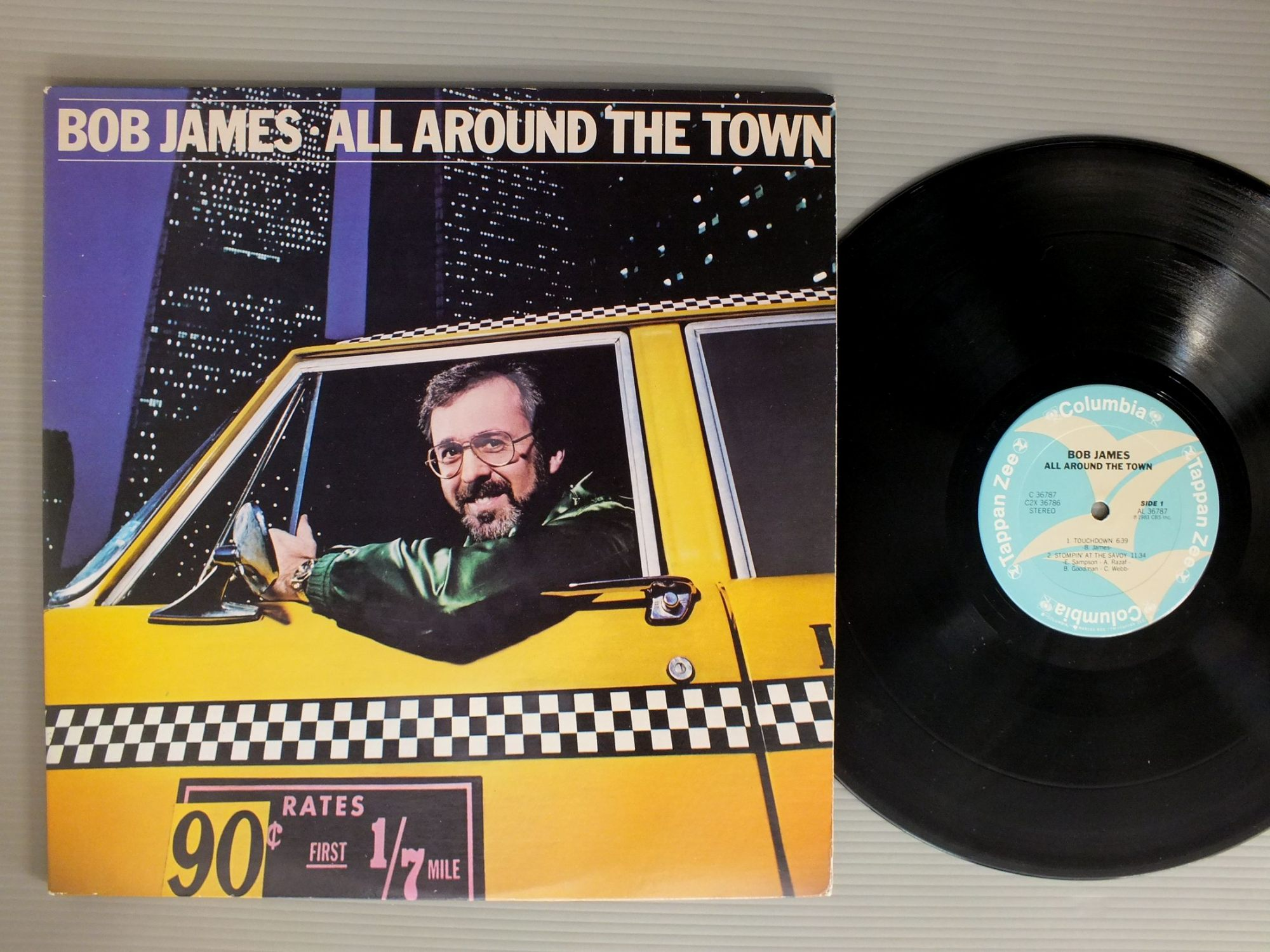BOB JAMES - ALL AROUND THE TOWN LIVE - 33T