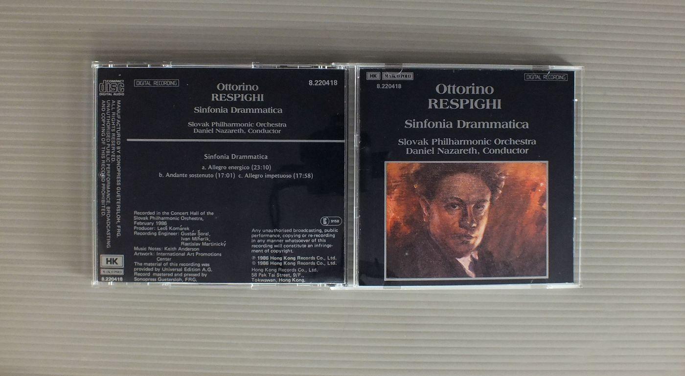 DANIEL NAZARETH OTTORINO RESPIGHI-SINFONIA DRAMMATICA