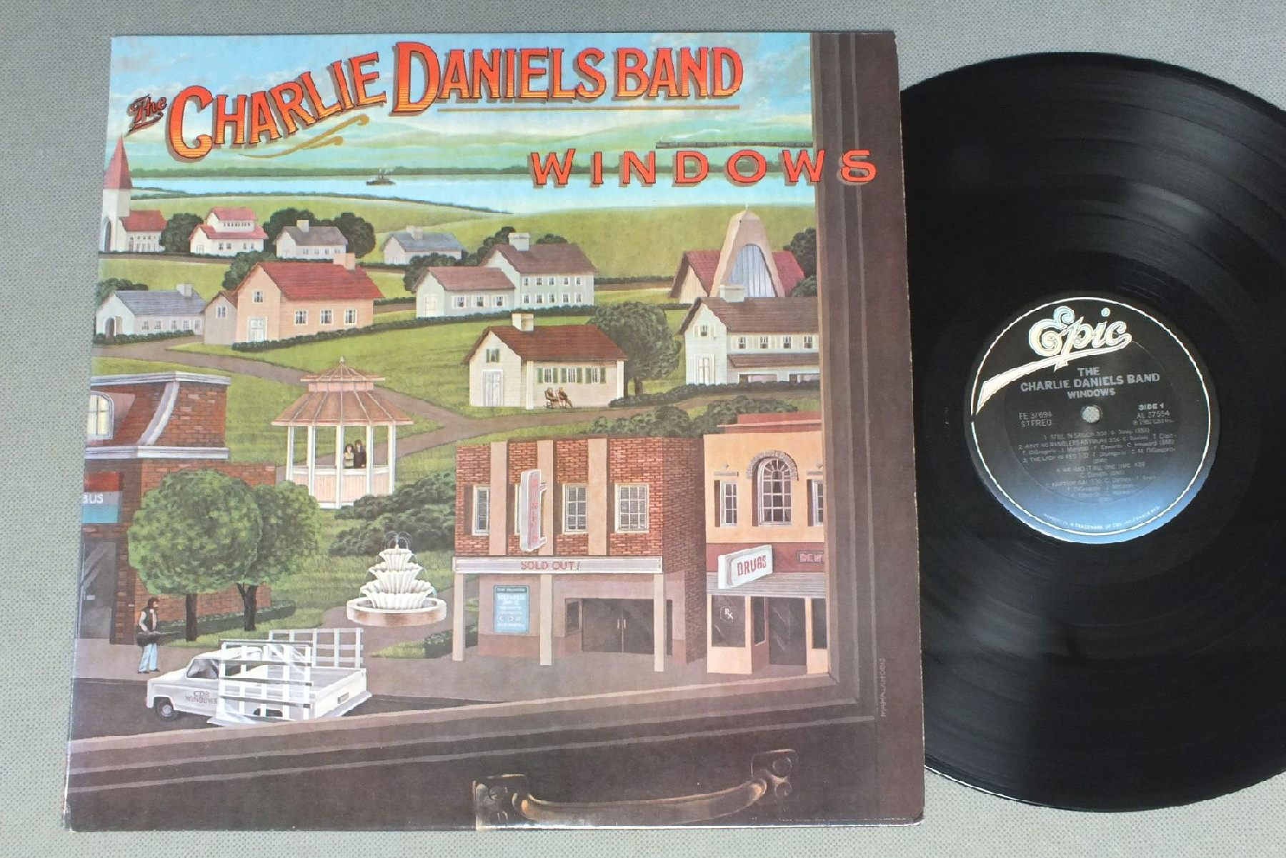 CHARLIE DANIELS BAND - WINDOWS - 33T
