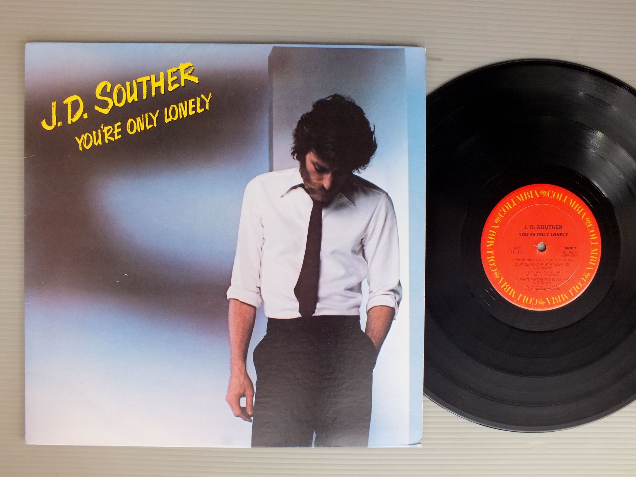 J.D.SOUTHER - YOU`RE ONLY LONELY - 33T