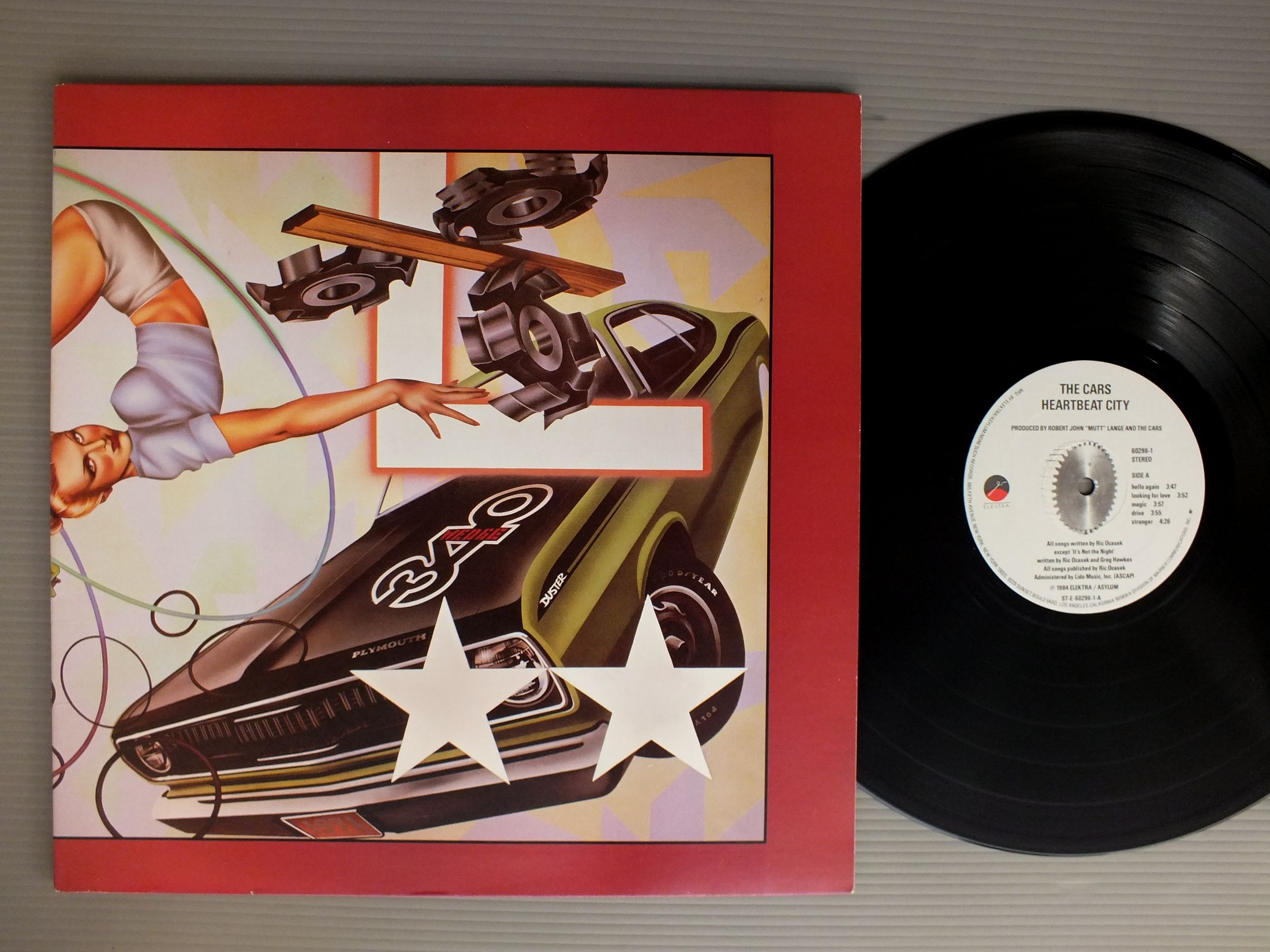 CARS - HEARTBEAT CITY - 33T