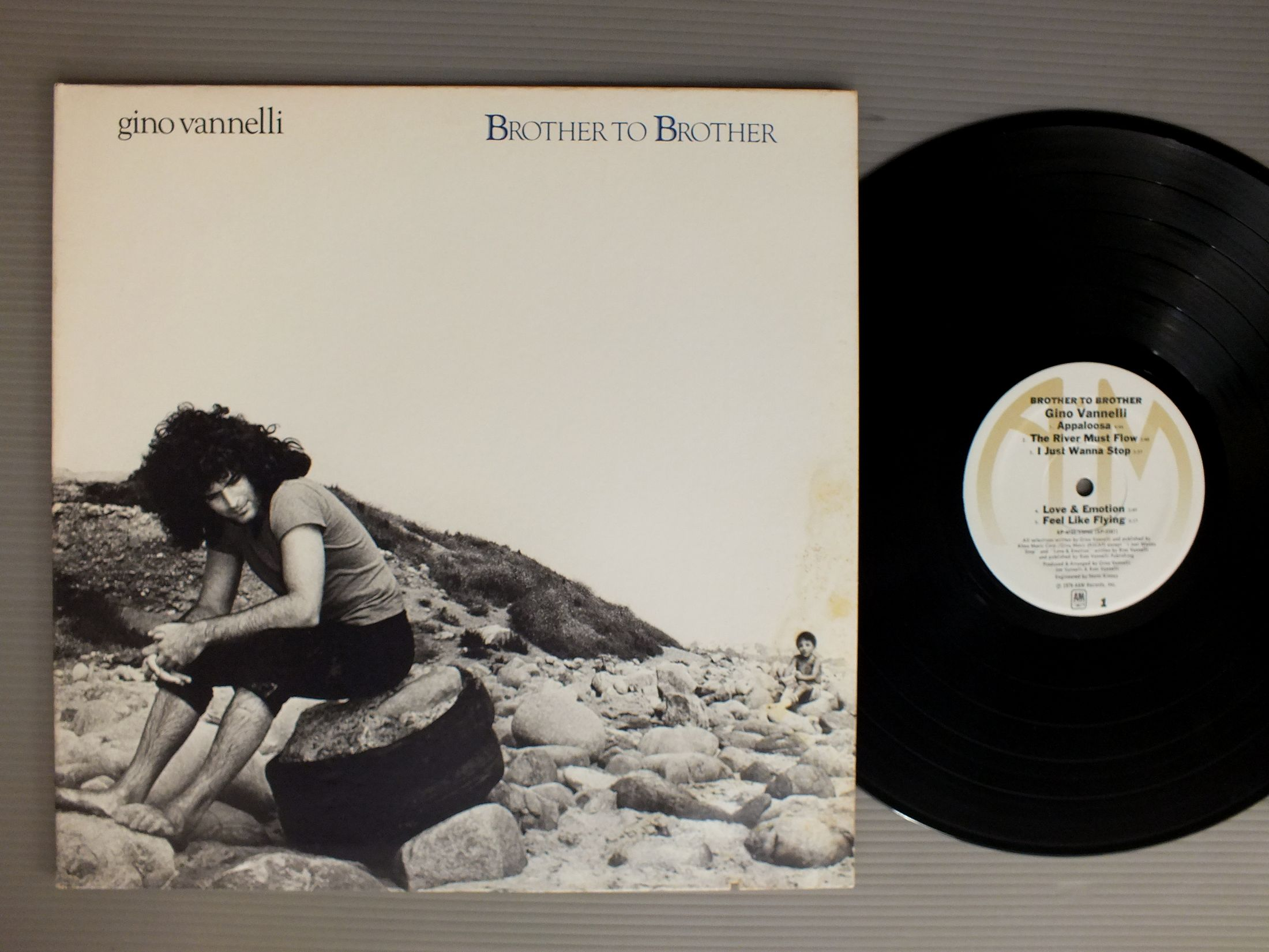 GINO VANNELLI - BROTHER TO BROTHER - 33T